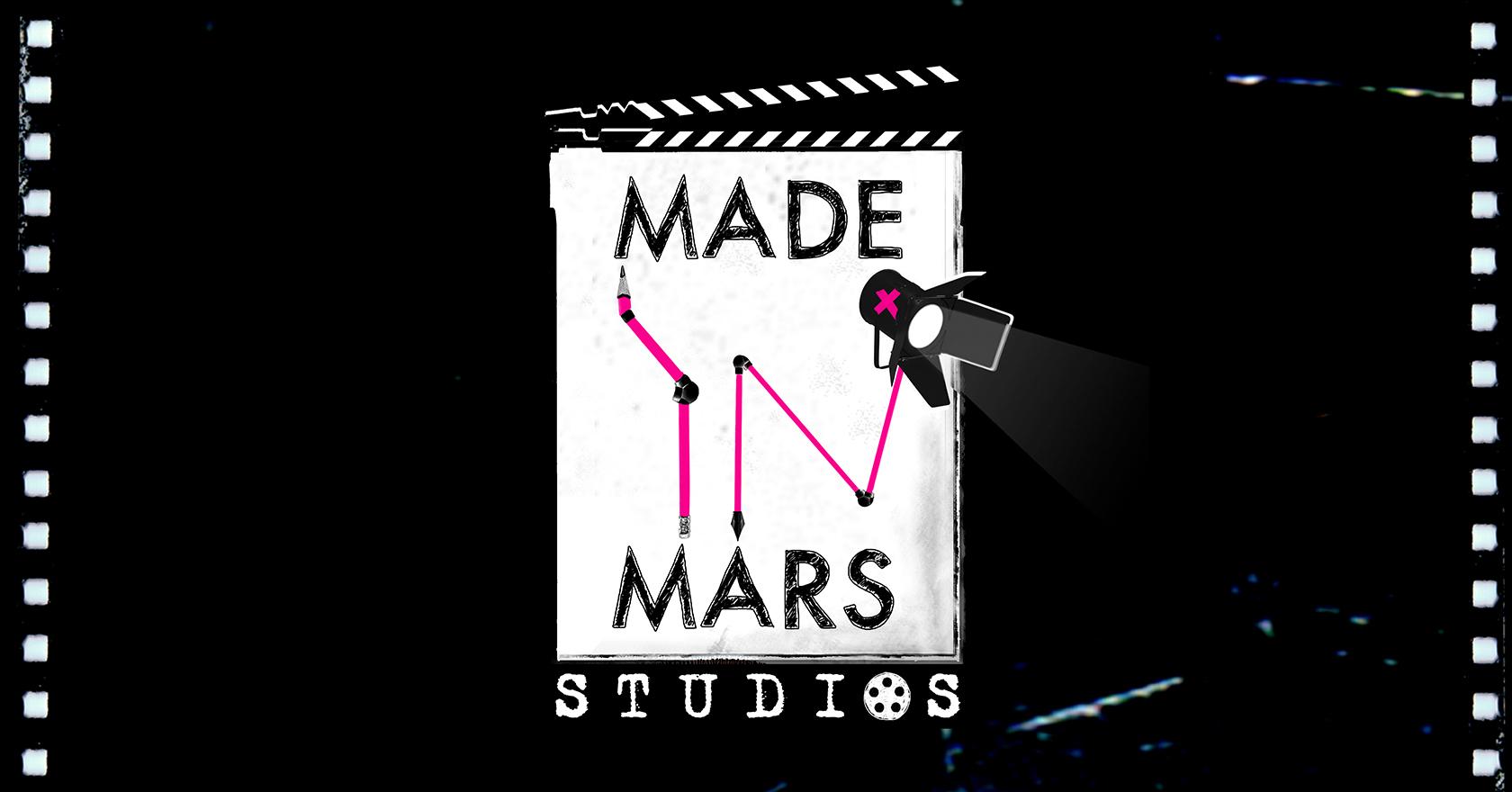 Made in Mars Studios Logo Animated