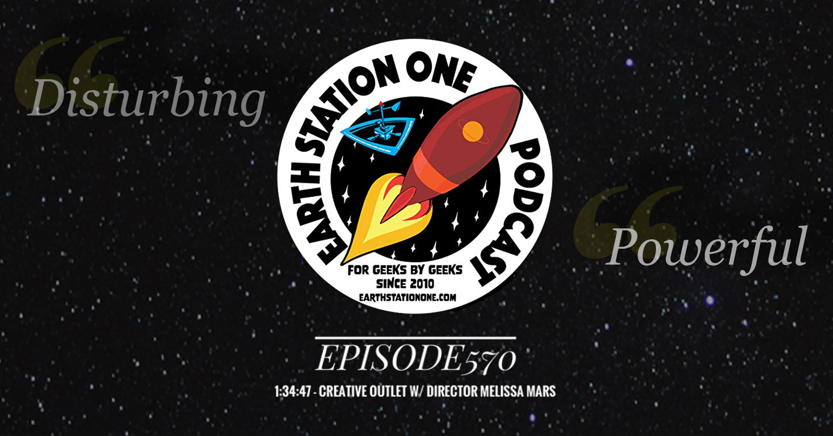 Director Melissa Mars' Guest Interview on Earth Station One Podcast