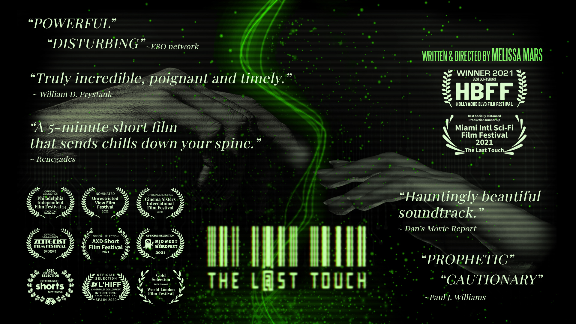The Last Touch Trailer has arrived!